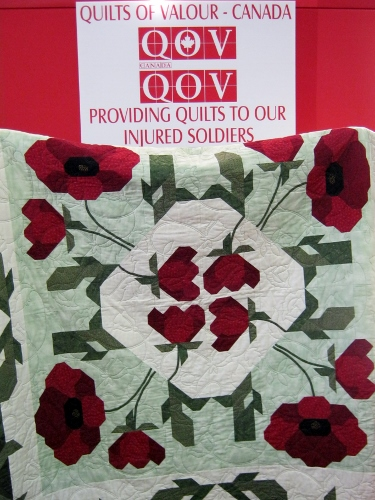 quilts for injured soldiers
