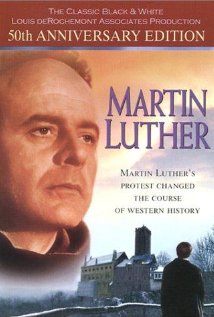 Last night my teens' catechism classes were cancelled because of snow. Instead, we watched my favorite movie, Martin Luther. It is Biblical, inspiring, moving, amazing and we highly recommend it.