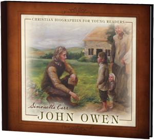 John Owen teaching his catechism to a family of parishioners