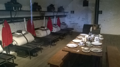 Fort Henry soldiers' quarters