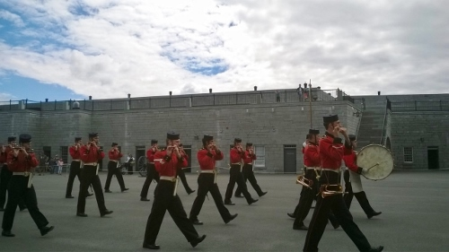 Fort Henry parade
